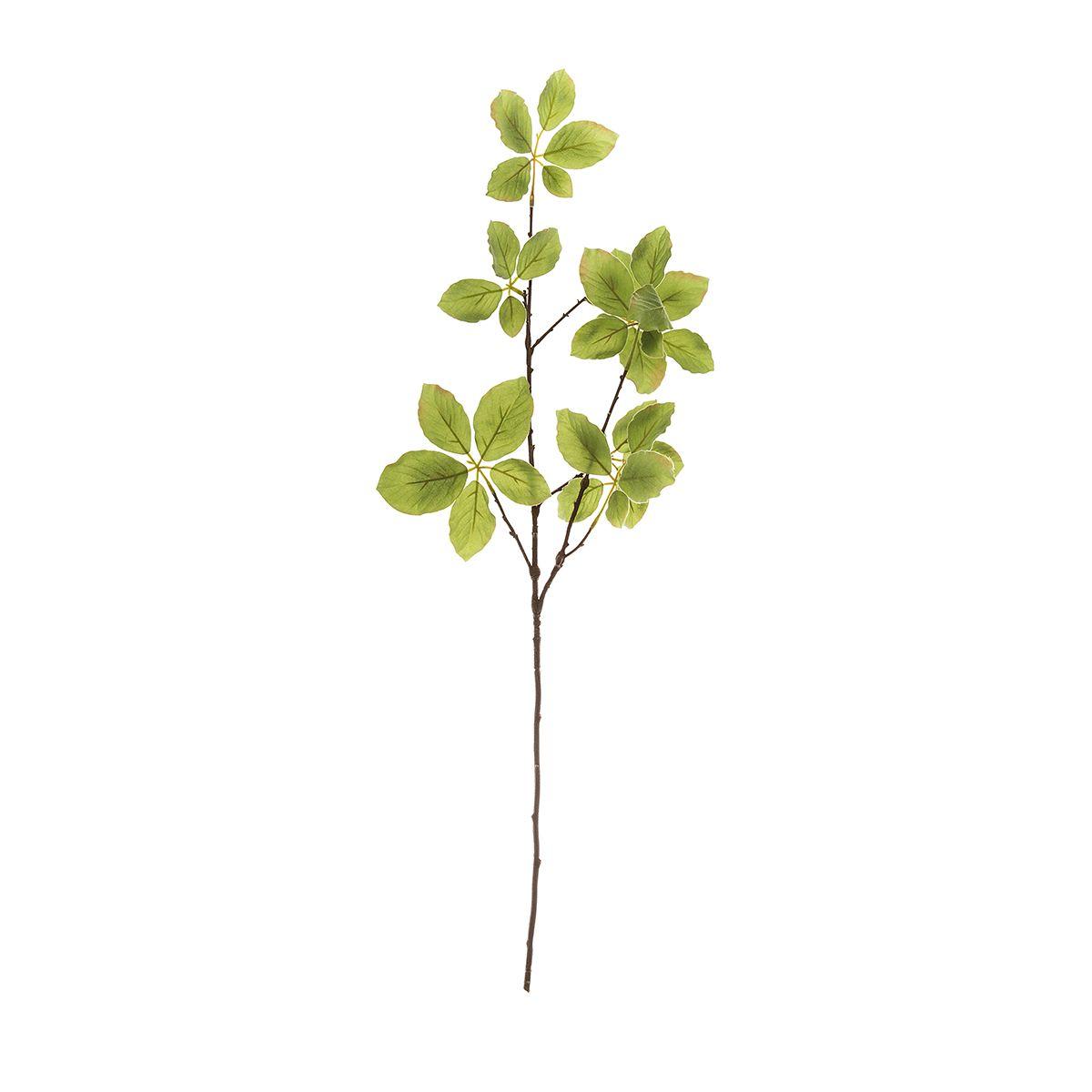 Искусственное растение Riverdale Ветка березы зеленая 62см недорого