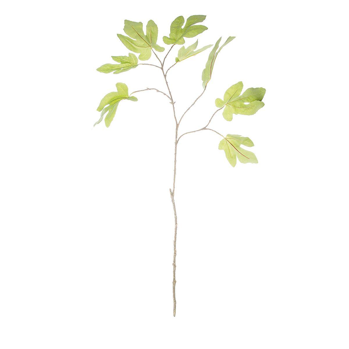 Искусственное растение Riverdale Ветка инжира зеленая 101см недорого