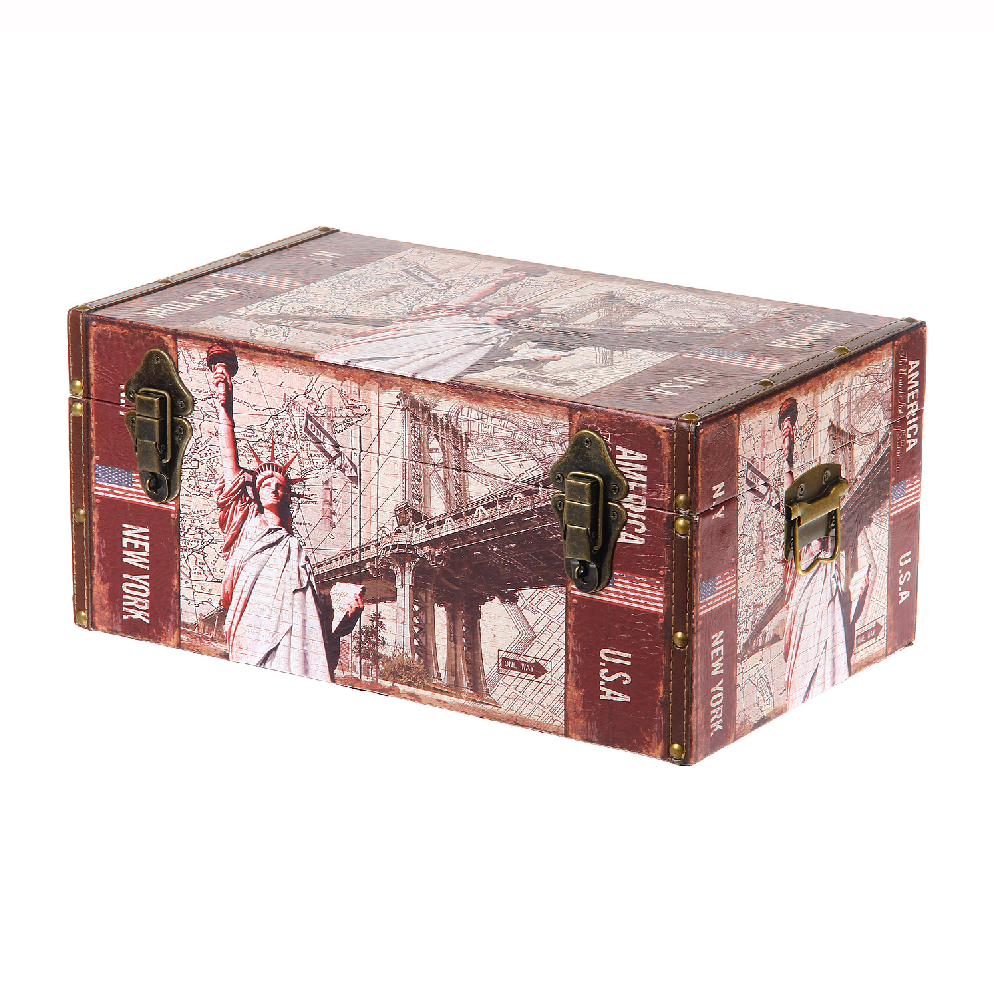 Сундук декоративный Grand forest Дакота малый 44x26x20 спальня дакота