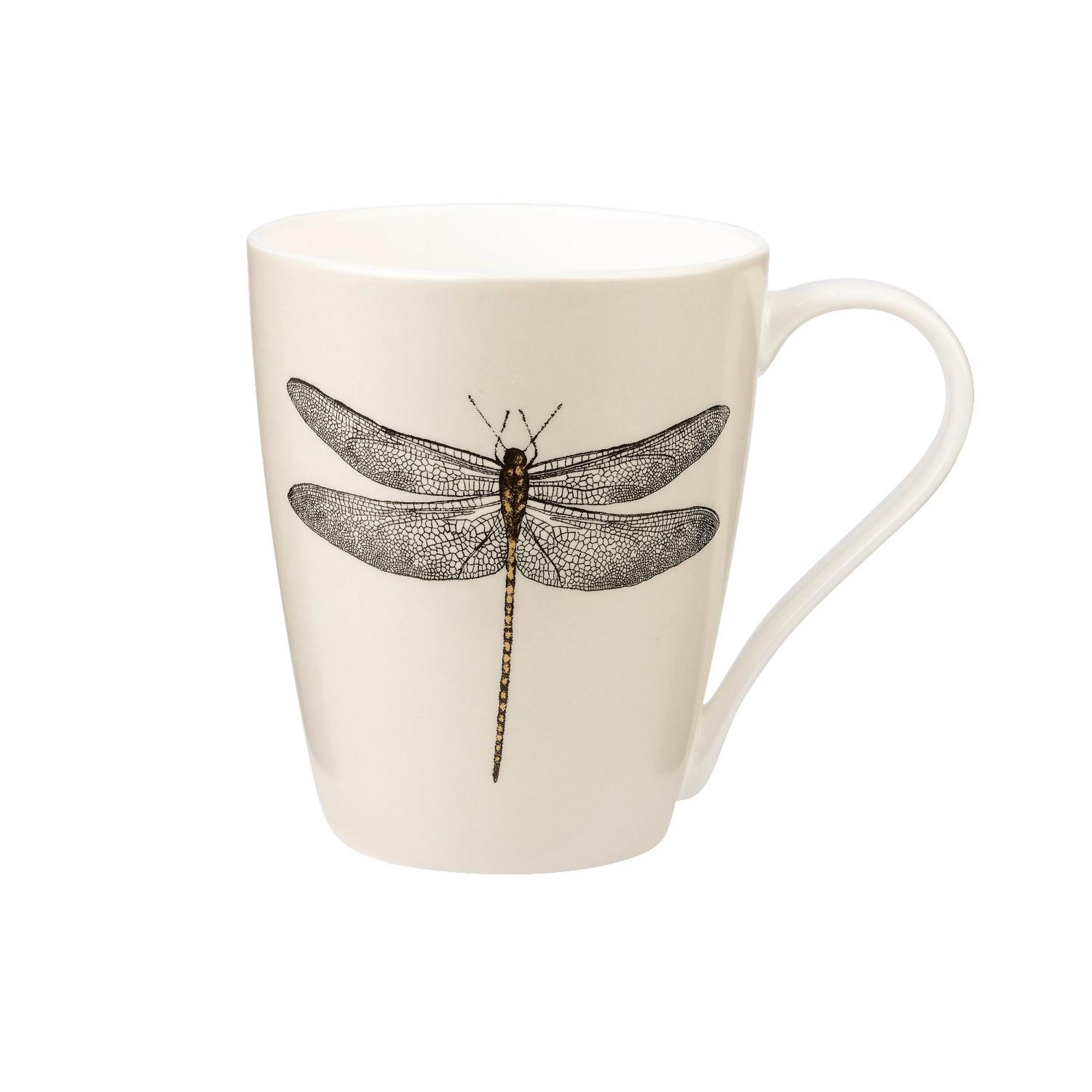 Кружка стрекоза 390 мл бежевый Churchill кружка churchill пчелы 360 мл