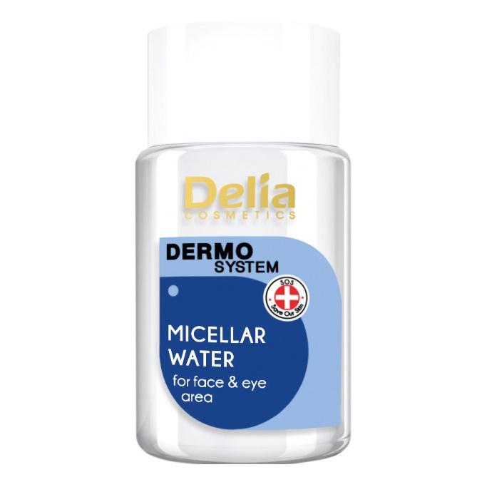 Мицеллярный гель Delia cosmetics Dermo System для умывания лица и глаз 50 мл очищающий гель для лица dior dermo system 125 мл