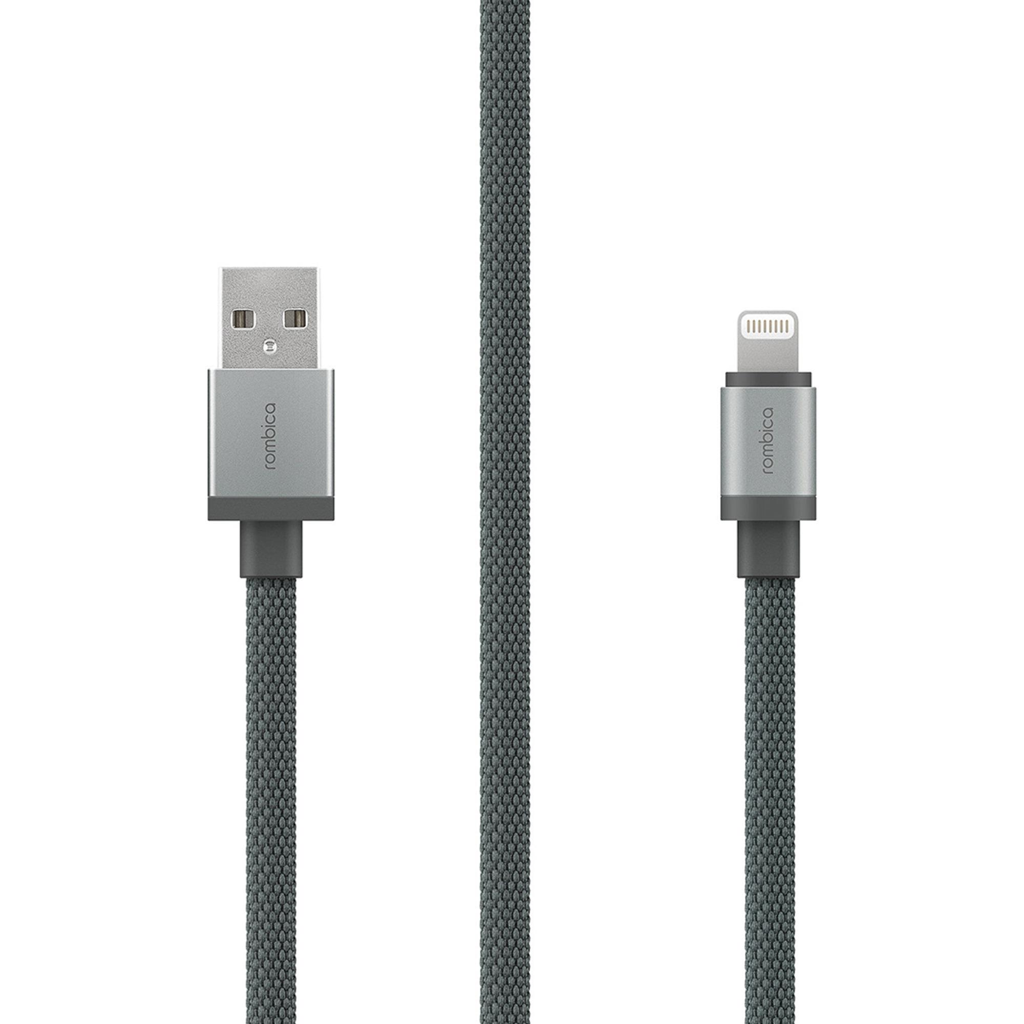 Фото - Кабель Rombica LINK USB-Lightning MFI 1,5 м CB-LK01 Gray разумовская м м львова с и капинос в и и др русский язык 5 класс учебник