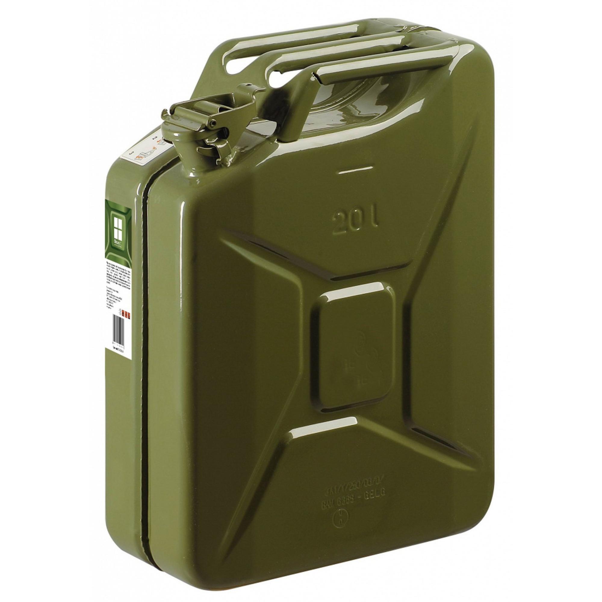 Канистра металлическая гсм grn 20л Oktan металл канистра пластиковая oktan profi для гсм 20 л