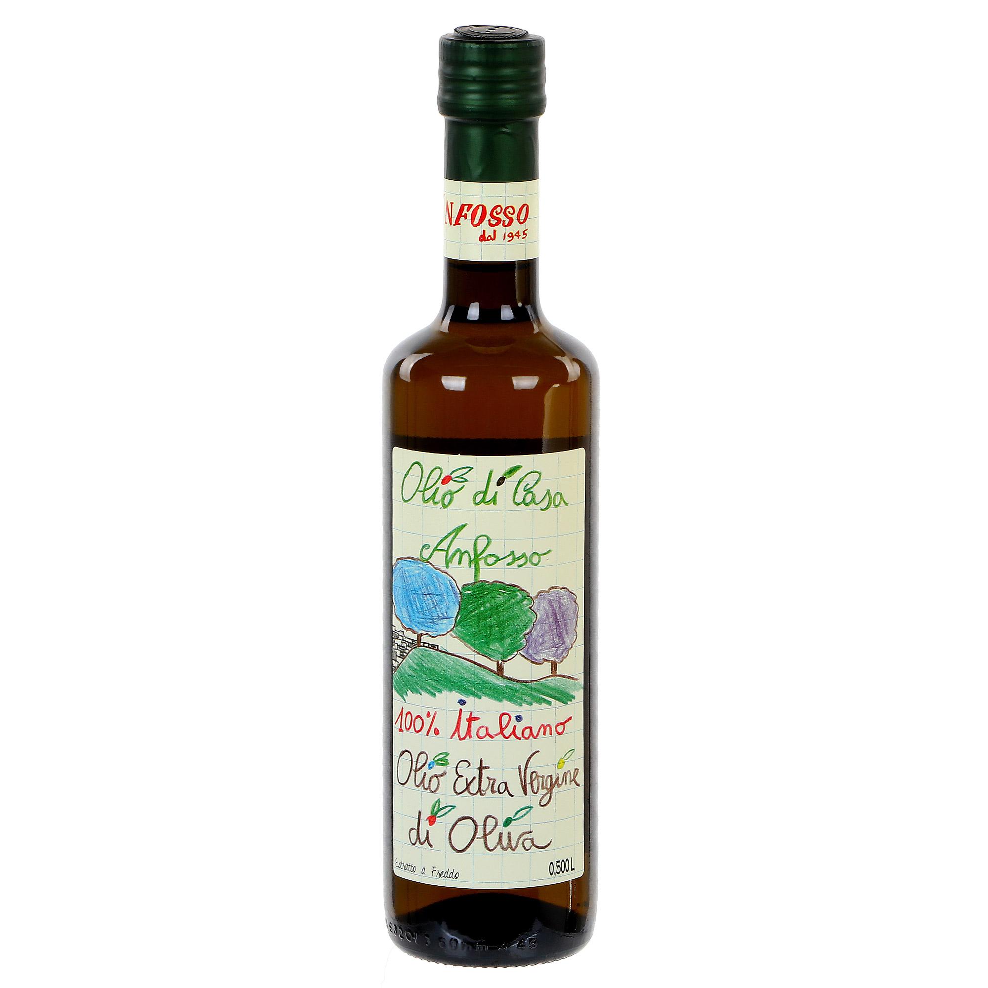 Масло оливковое Anfosso Olio di Casa 500 мл ремень olio rosti olio rosti mp002xm23s9f