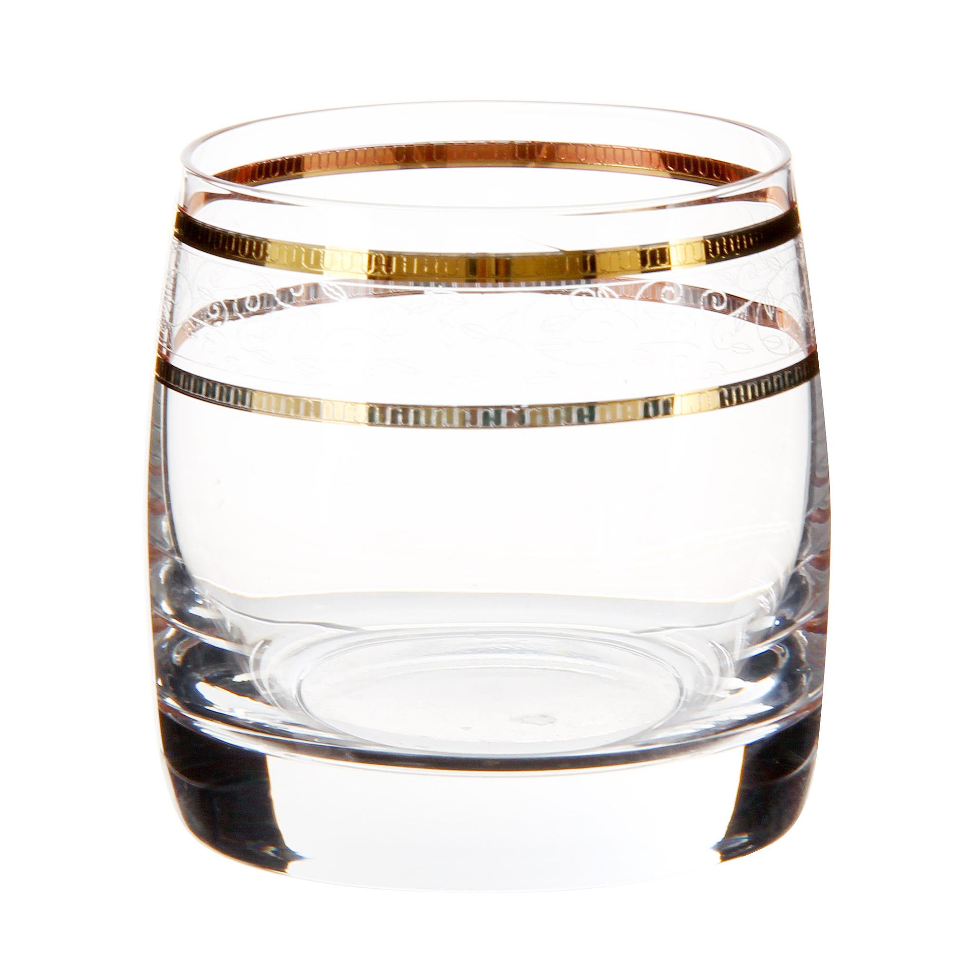 Набор стаканов для виски Crystal Bohemia ideal 230мл 6шт
