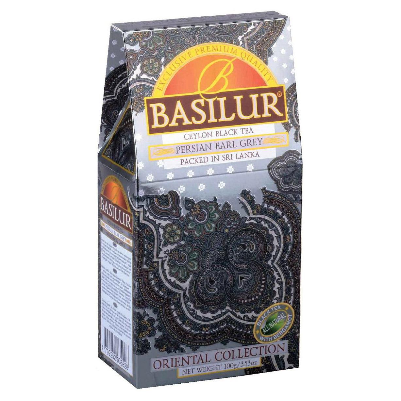 Чай Basilur Persian Earl Grey черный листовой 100 г lady grey листовой чай 100г 3 53унции