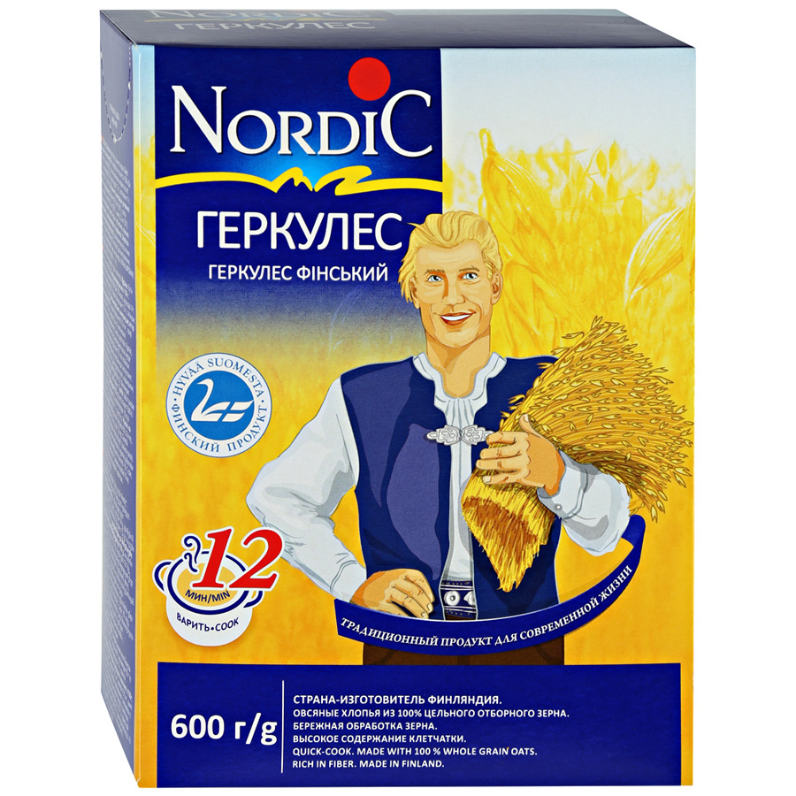 Геркулес Nordic Финский 600 г