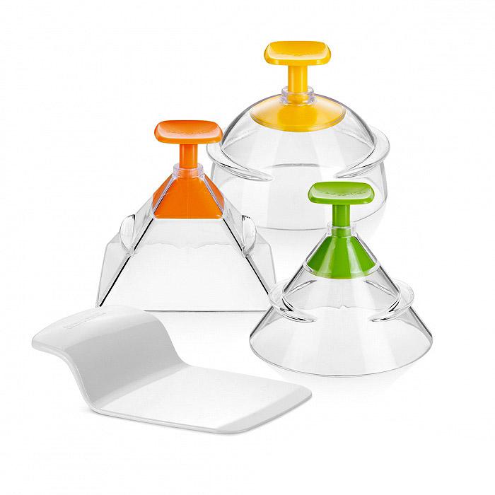 Формочки для придания продуктам 3d-формы Tescoma presto foodstyle, 3 шт