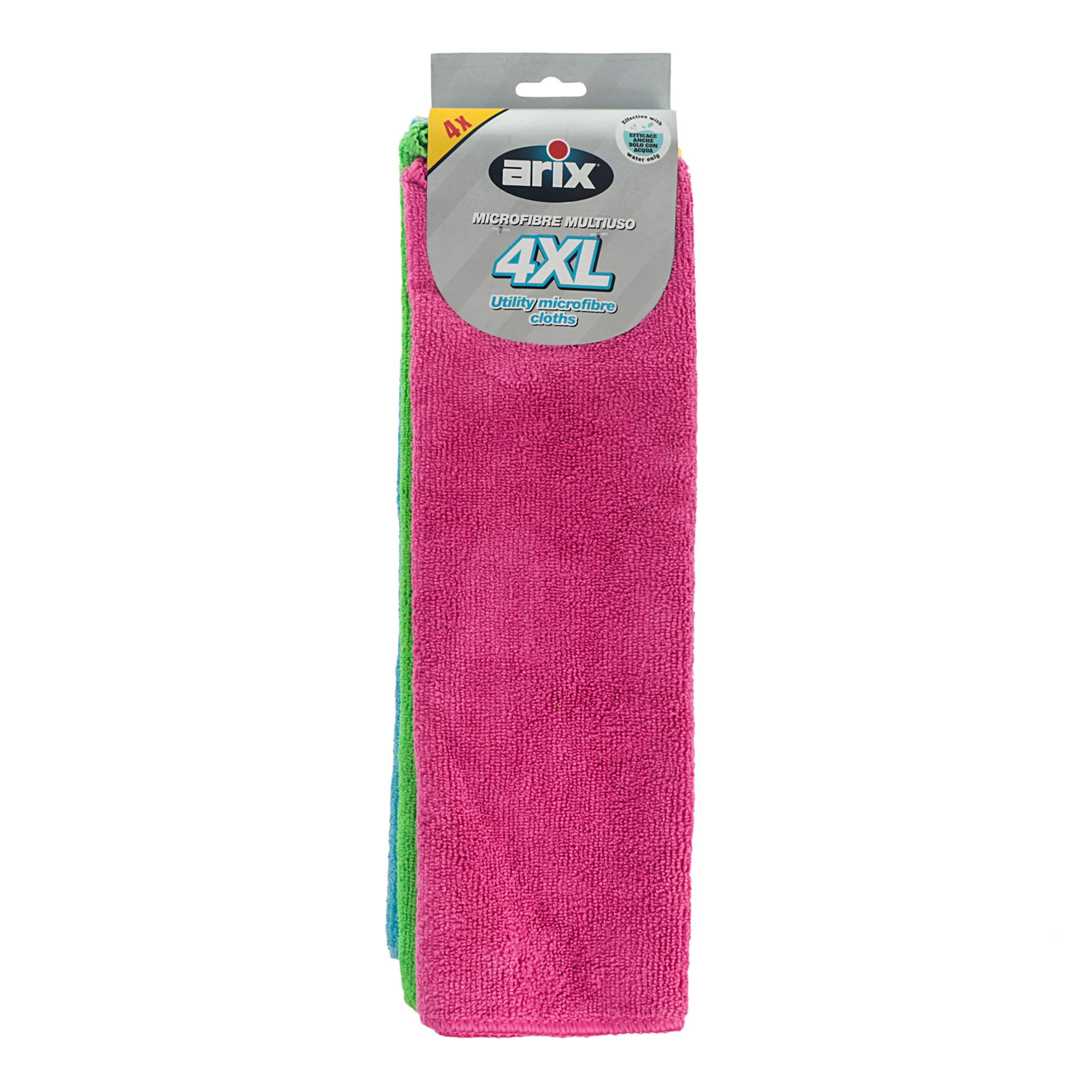 Тряпки для уборки 4шт микрофибра Arix