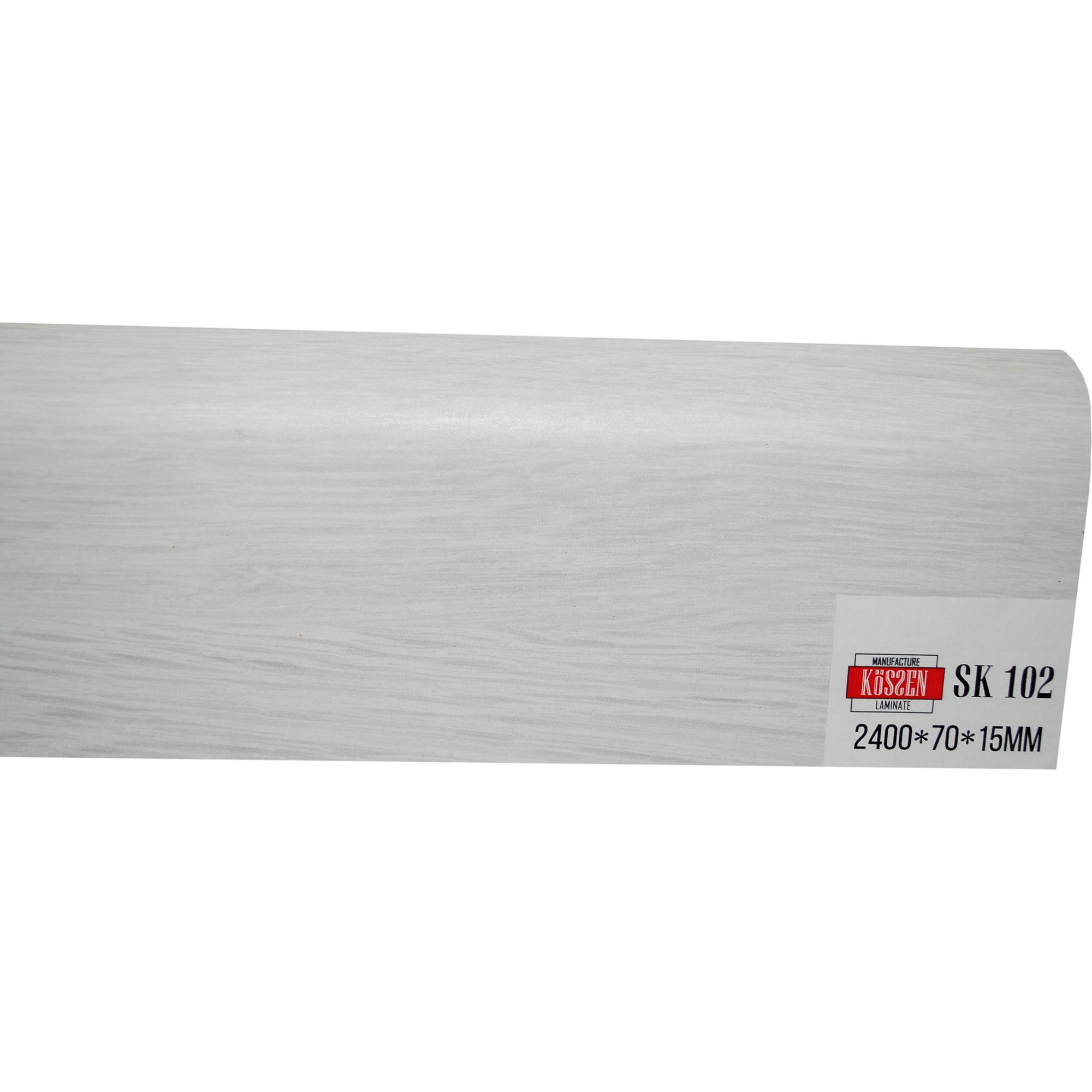 Плинтус Kossen Ламинированный МДФ SK 102 2400x70x15 мм