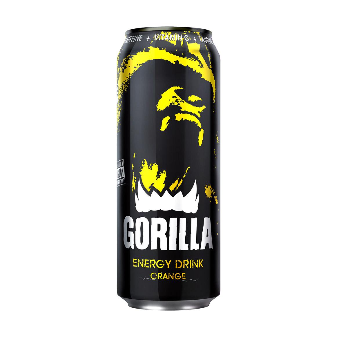 Напиток энергетический Gorilla Orange 450 мл.
