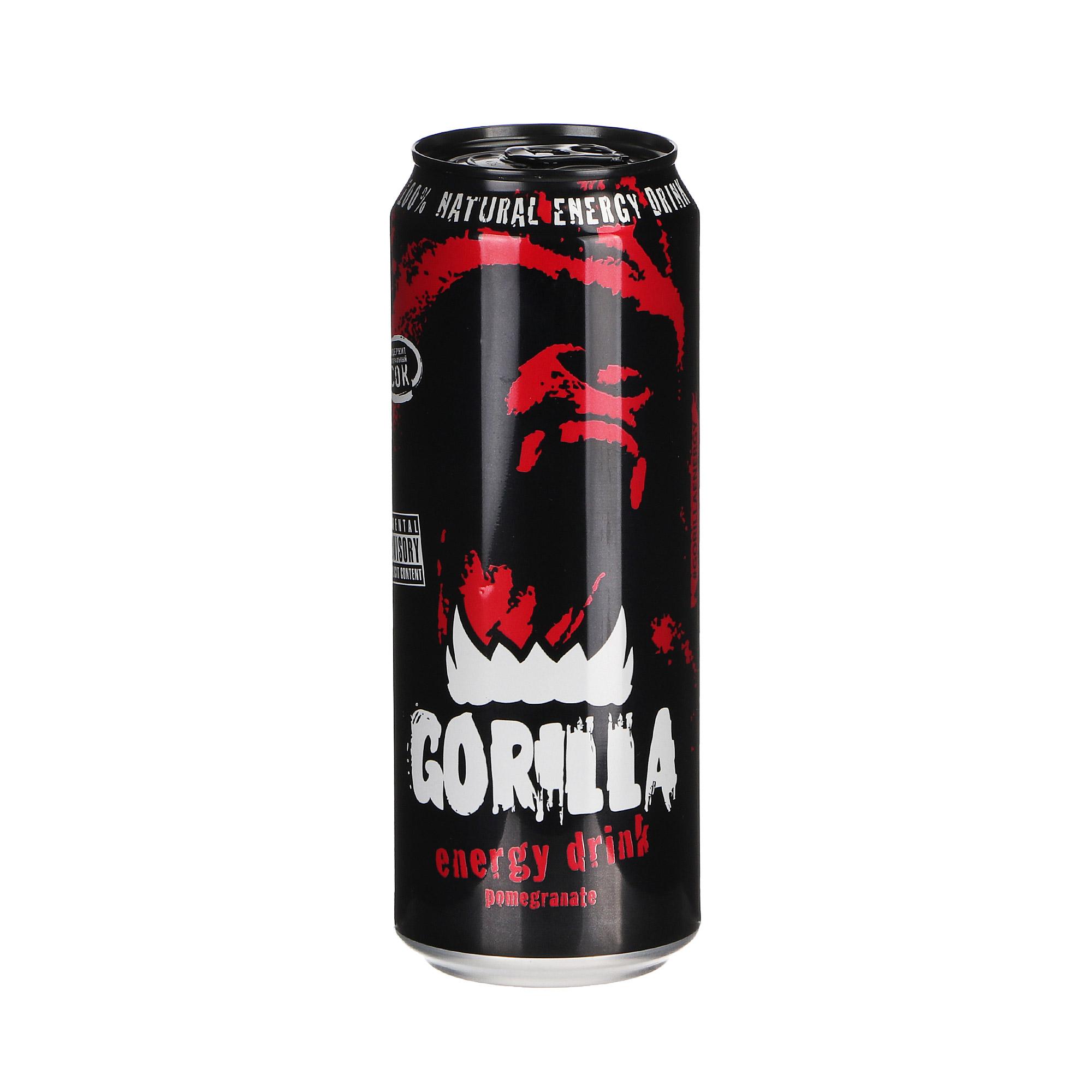 Напиток энергетический Gorilla Pomegranate 450 мл.