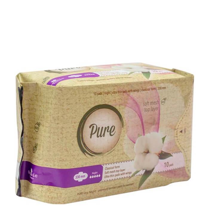 Прокладки гигиенические Pure Найт Драй 10 шт недорого