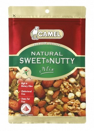 Смесь орехов и сухофруктов Camel Natural Fruit and Nutty Mix 150 г