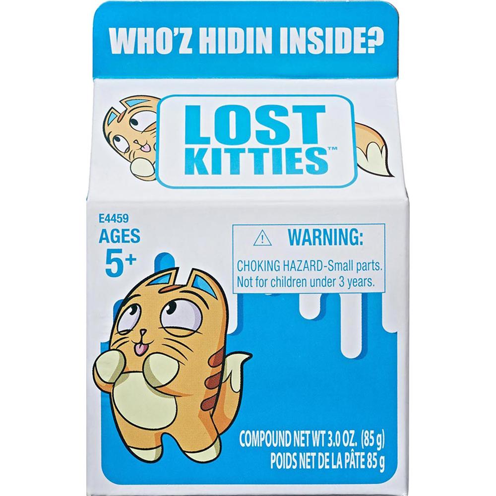 Игровой набор Hasbro Lost Kitties Котенок в молоке фото