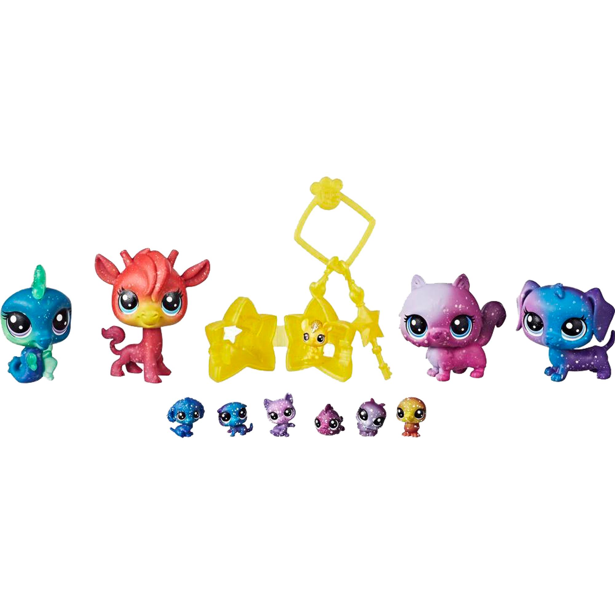 Фото - Игровой набор Hasbro Littlest Pet Shop 11 космических Петов hasbro littlest pet shop e5148 литлс пет шоп игровой набор букетный набор петов