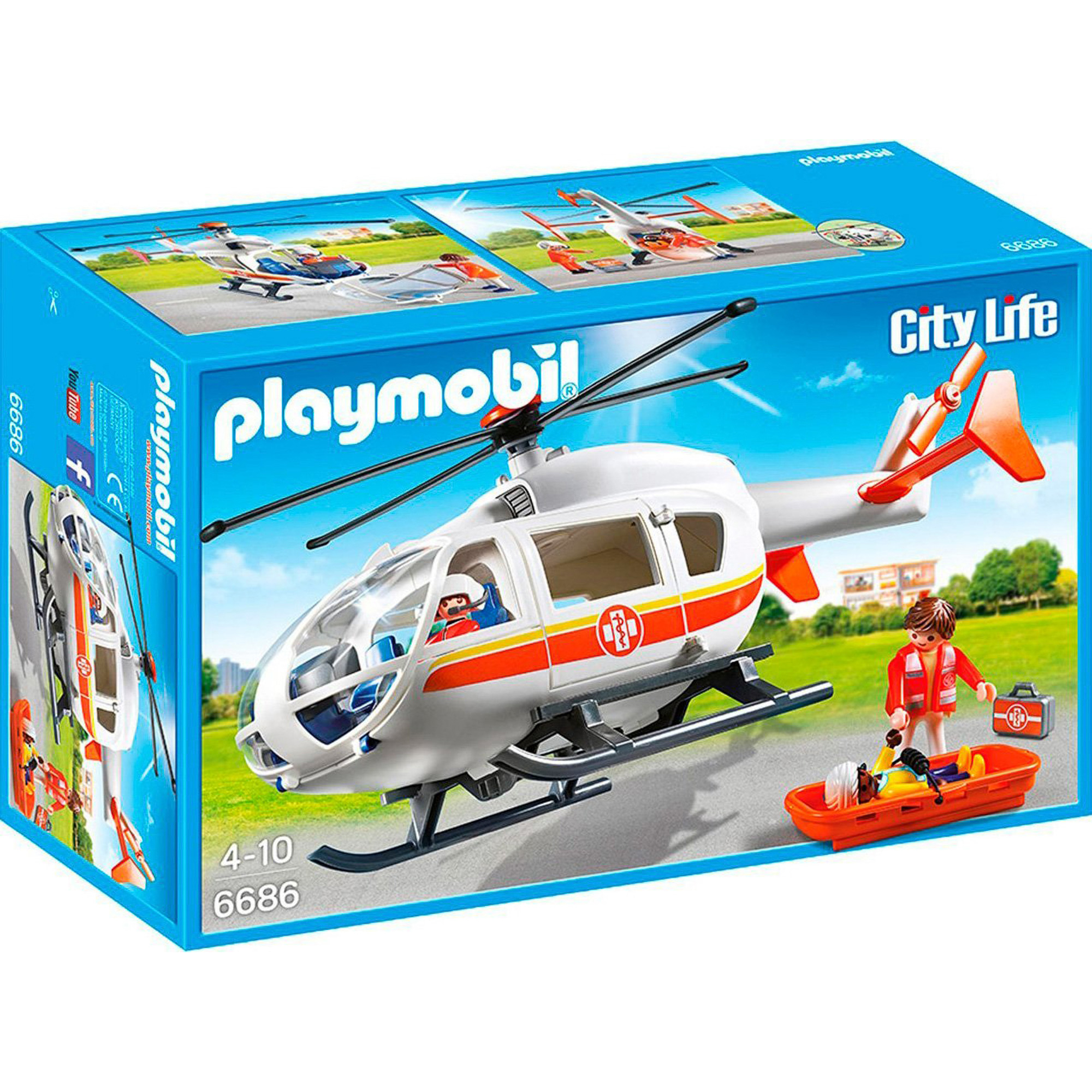 Конструктор Playmobil Вертолет скорой помощи