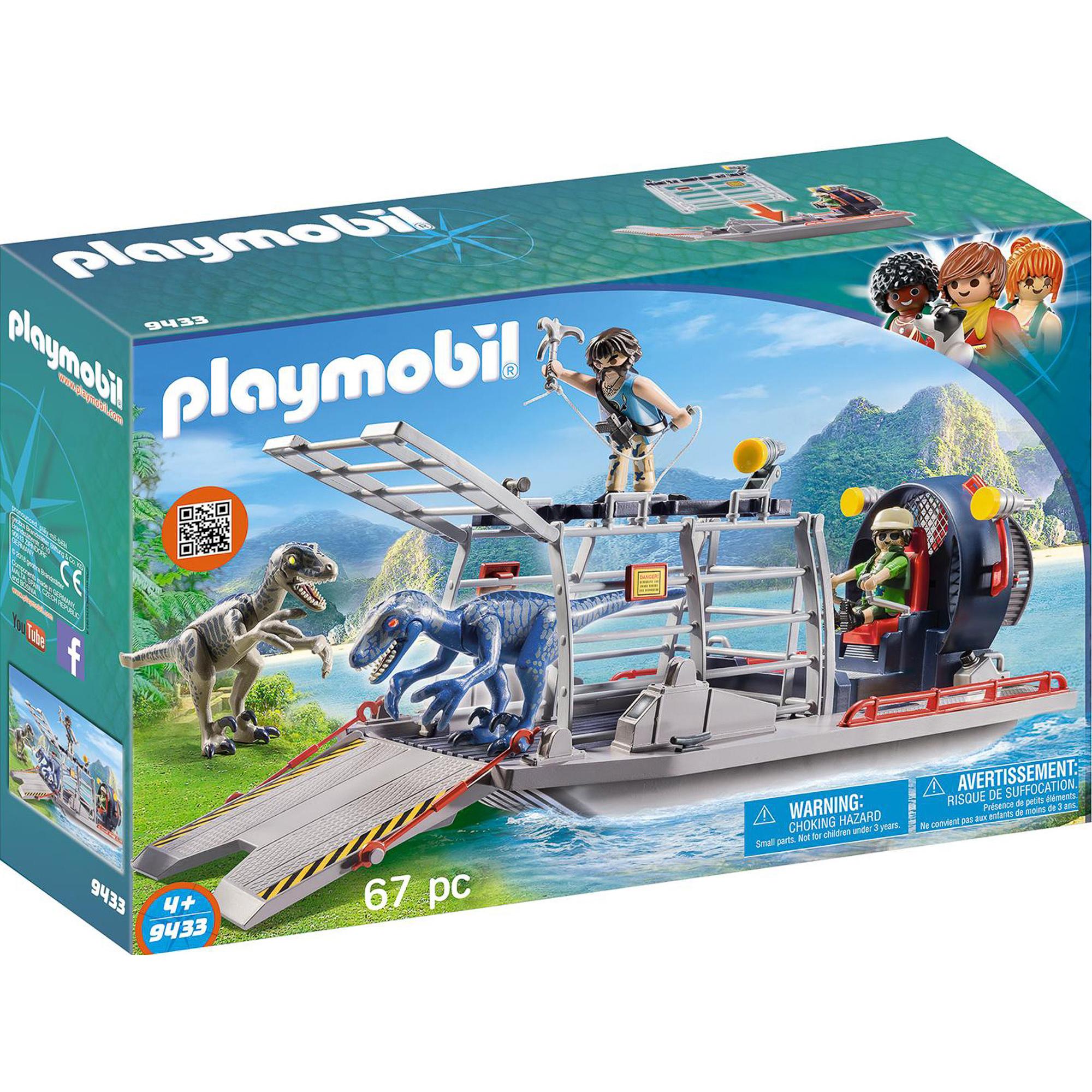 Конструктор Playmobil Вражеское воздушное судно с ящером фото