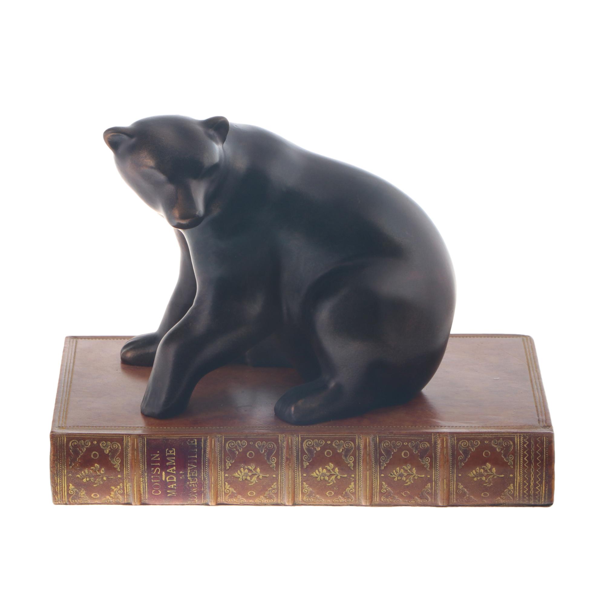 Пресс для бумаг Obw медведь фото
