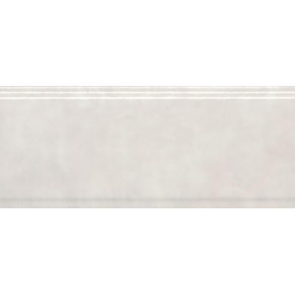 Бордюр Kerama Marazzi Сад Моне белый обрезной 30x12 см BDA004R
