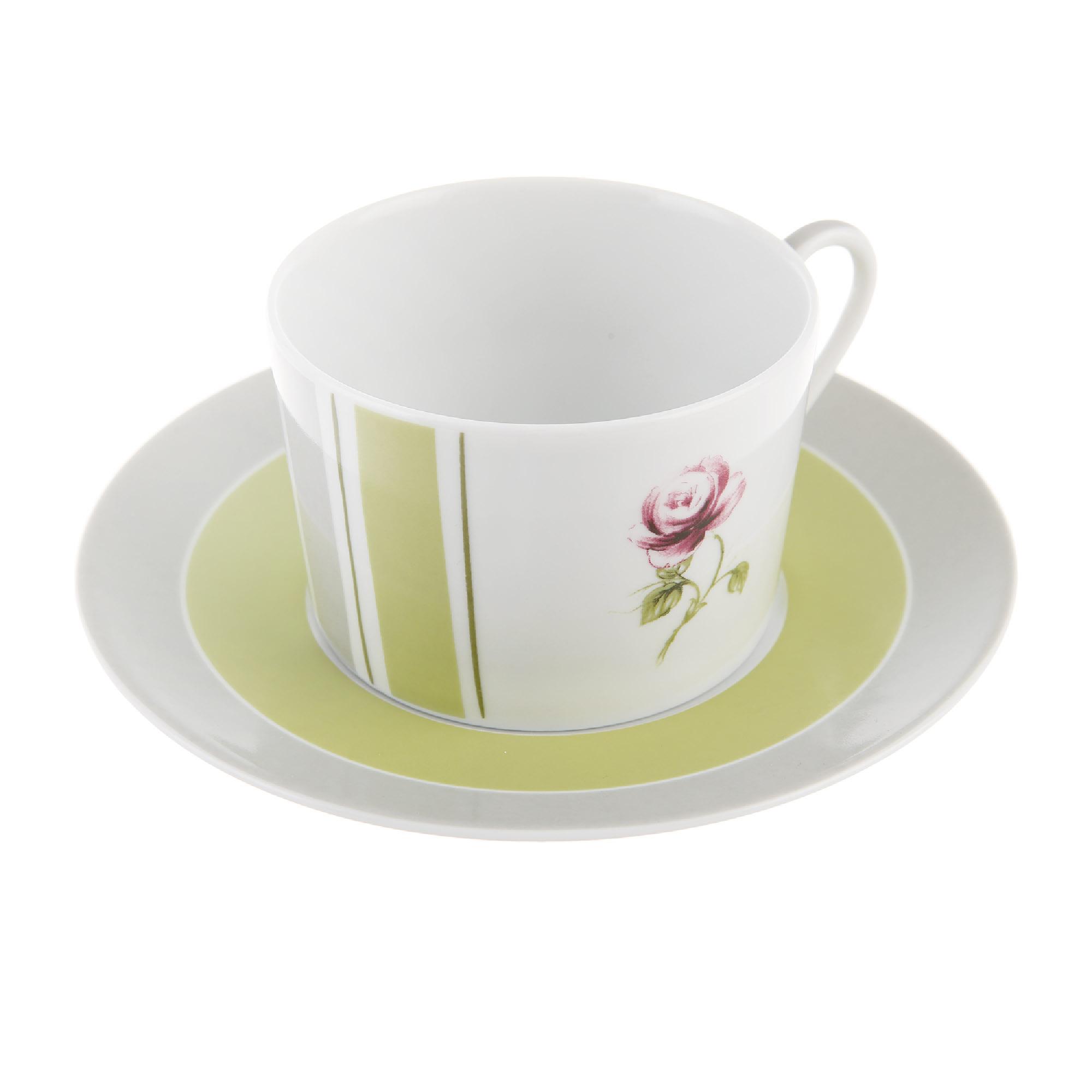 Чайная пара 220 мл cocooning Yves de la rosiere тарелка плоская yves de la rosiere cocooning 27 см