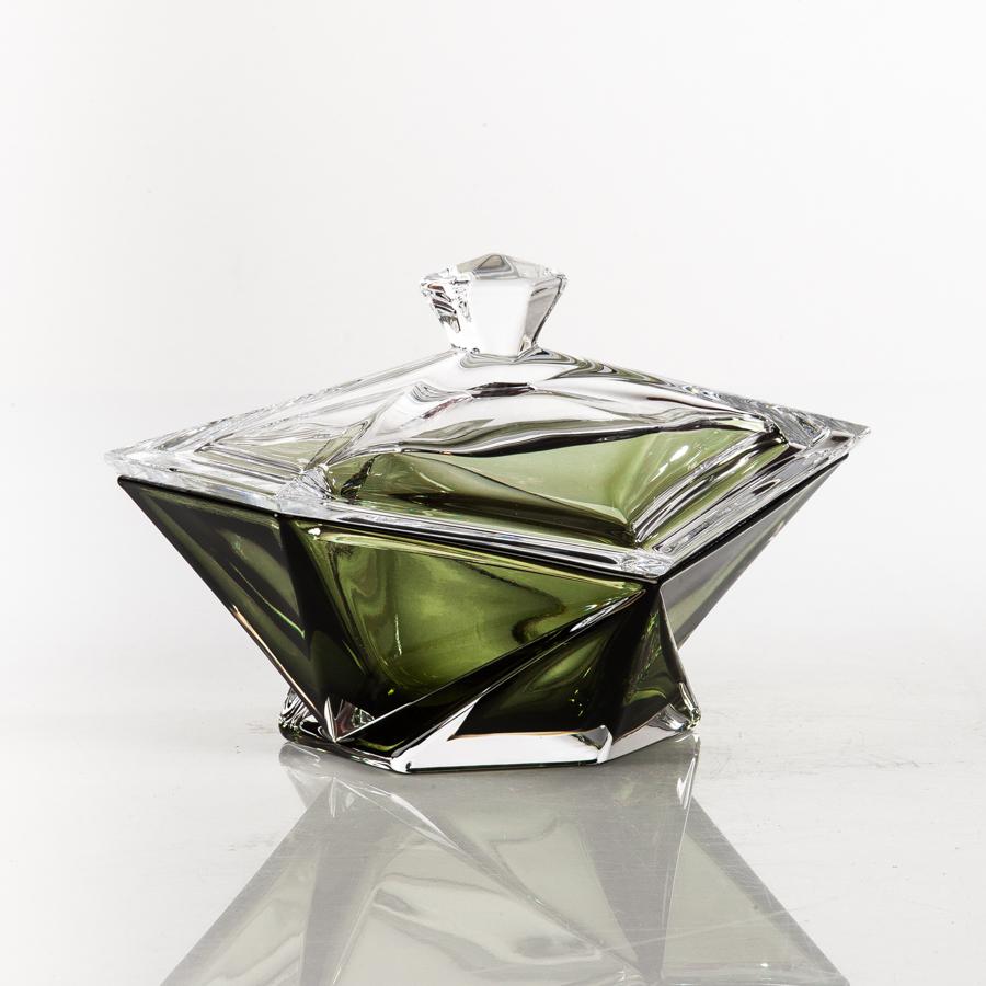 Конфетница Crystalite Bohemia Оригами 22,5 см