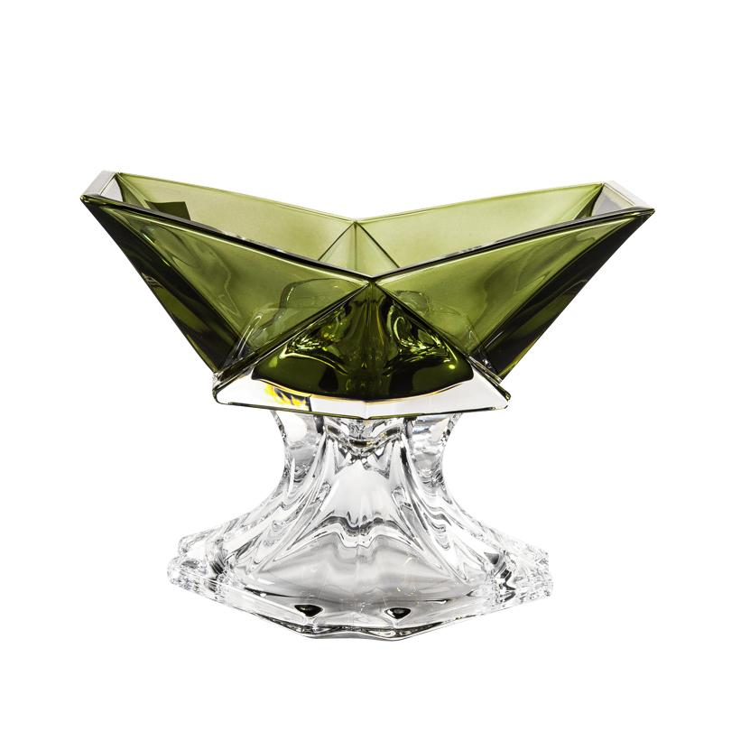 Салатник Crystalite Bohemia Оригами 22,5 см