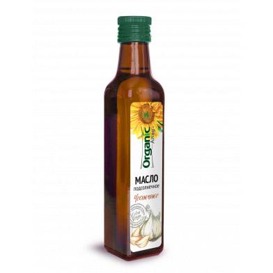 Масло подсолнечное Organic Life Чесночное 250 мл без брэнда масло кунжутное organic life