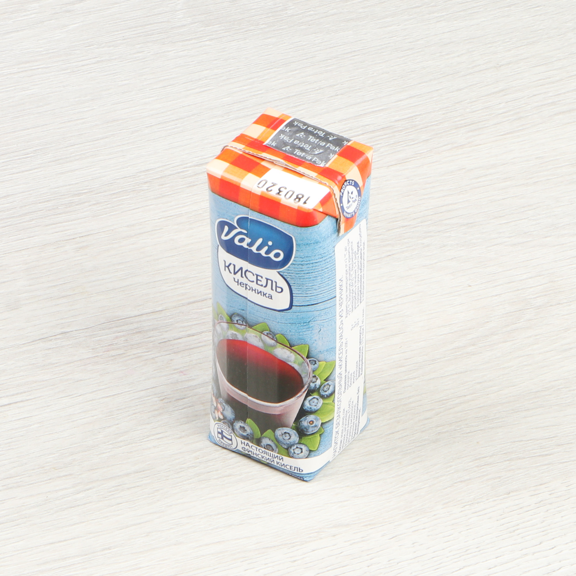 Фото - Кисель Valio черника 250 г йогурт valio clean label малибу