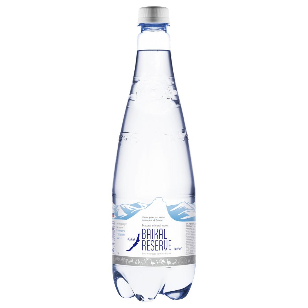 Вода минеральная Baikal Reserve газированная 1 л недорого