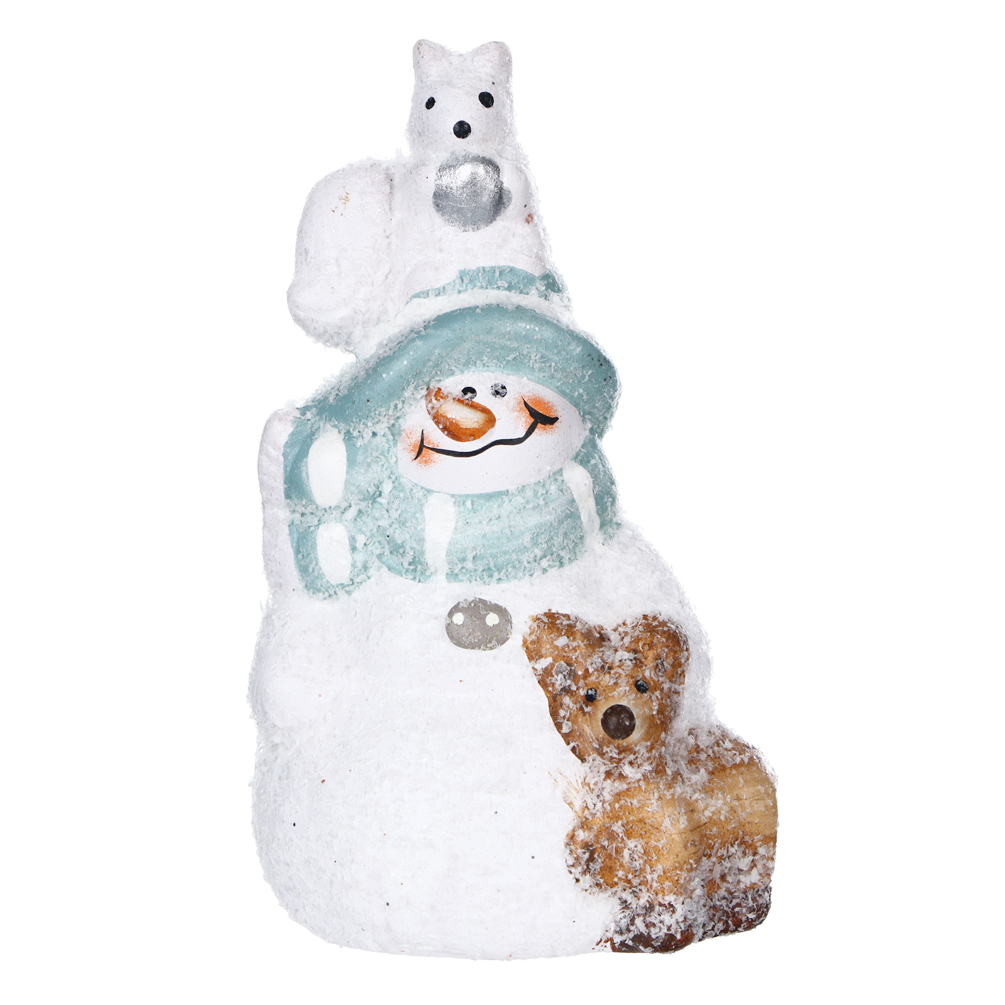 Фигурка Kaemingk Снеговик 12 см фигурка lefard снеговик 787 179