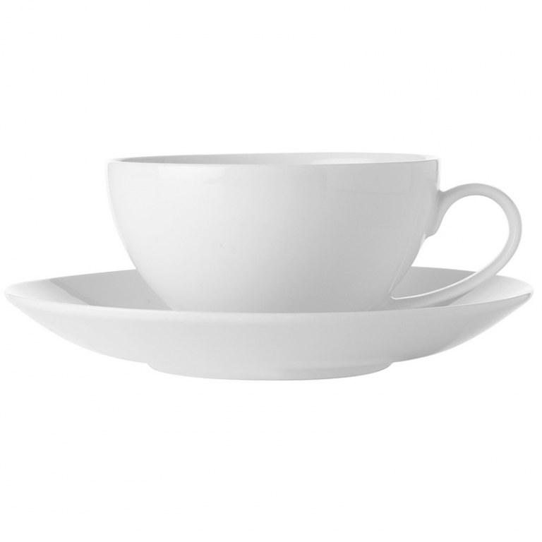 Чашка с блюдцем 0,25л Maxwell & williams белая коллекция