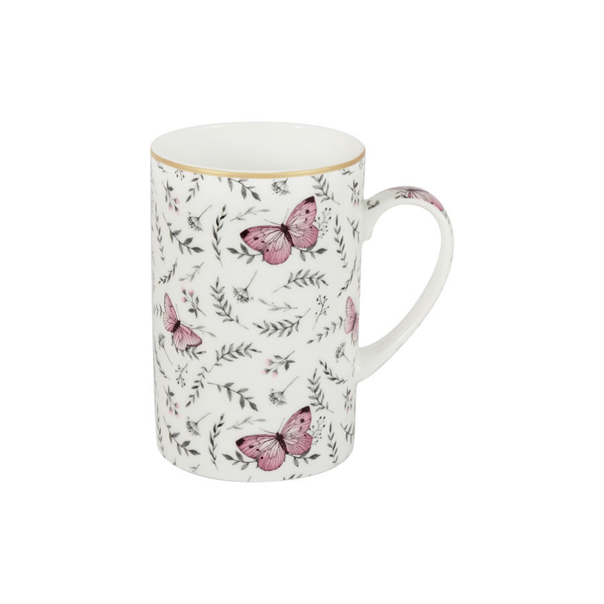 Кружка белая 0.35л камея The english mug