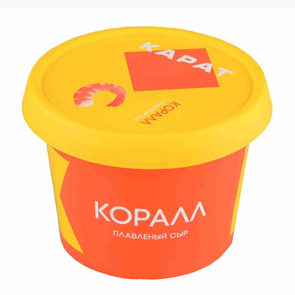 Сыр плавленый Карат Коралл 45% 230 г сыр плавленый карат янтарь 45% 400 г