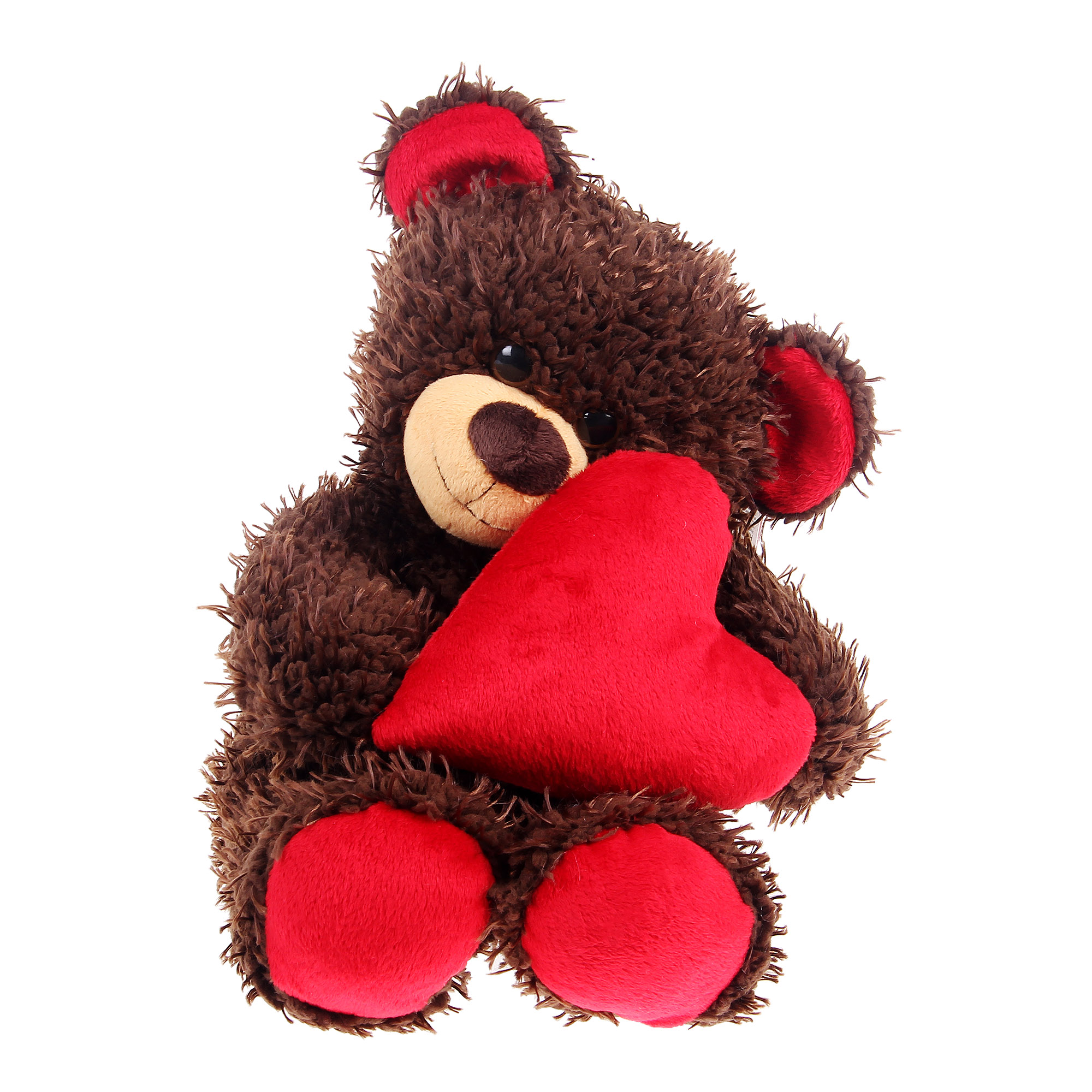 Мягкая игрушка Dream makers медвежонок Чиба с сердцем