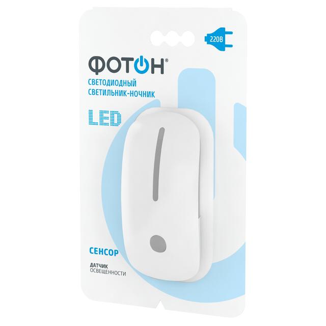 Светильник-ночник LED сетевой ФОТОН NM-200L.