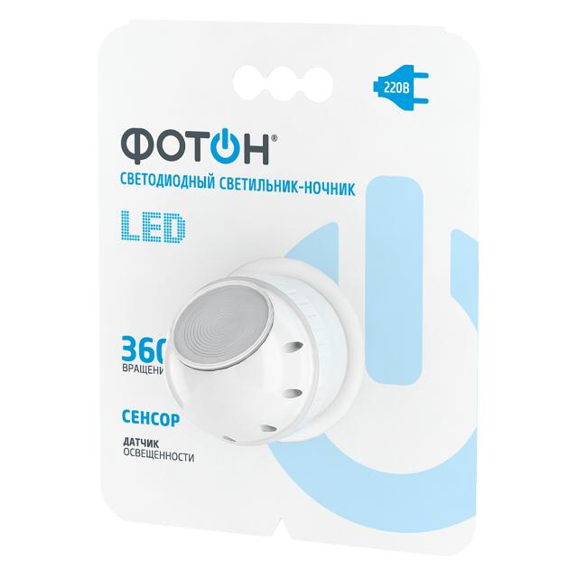 Светильник-ночник LED сетевой ФОТОН NM-360L.