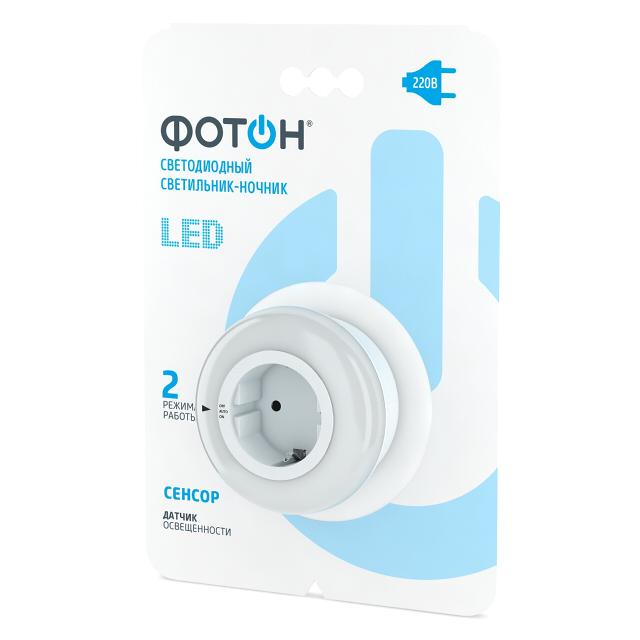 Светильник-ночник LED сетевой ФОТОН NM-500A.