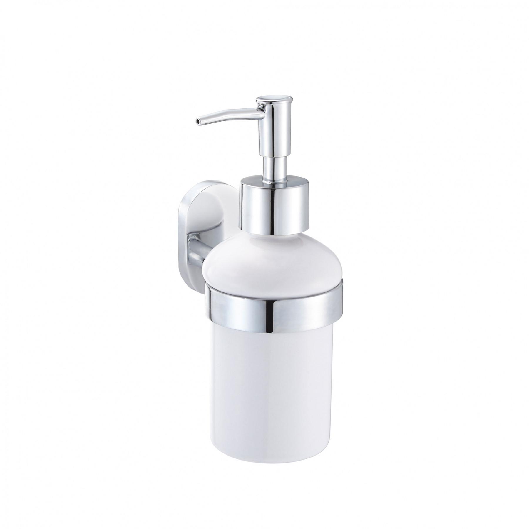Дозатор для жидкого мыла Fora Brass с держателем 350 мл дозатор для жидкого мыла fora brass керамический