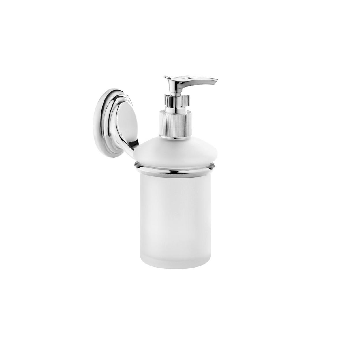 Дозатор для жидкого мыла Fora Noval с держателем 350 мл дозатор для жидкого мыла fora brass керамический