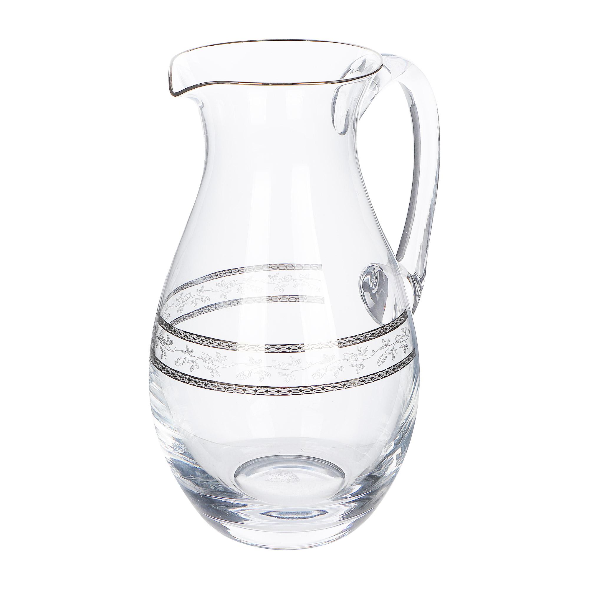 rona Кувшин Rona орнамент серебряный 1,9 л