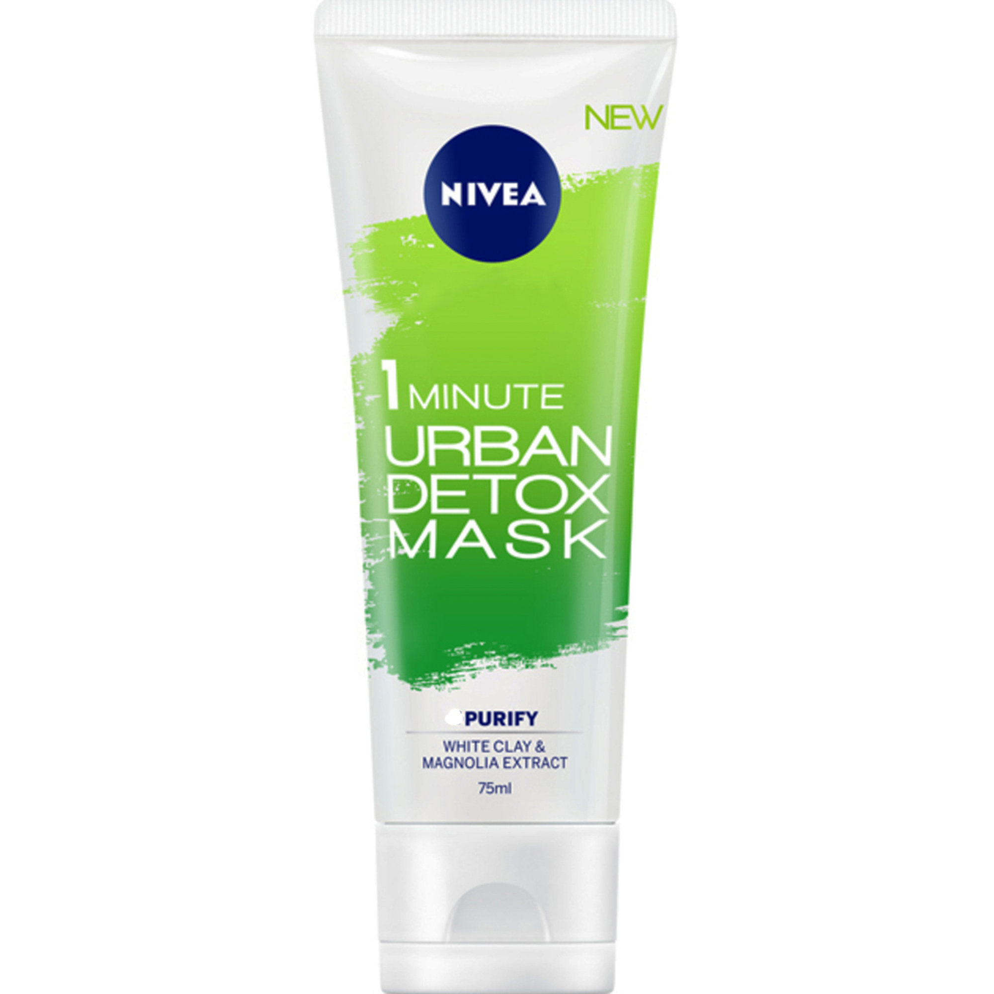 Маска для лица Nivea Urban Skin Detox Очистка за 1 мин
