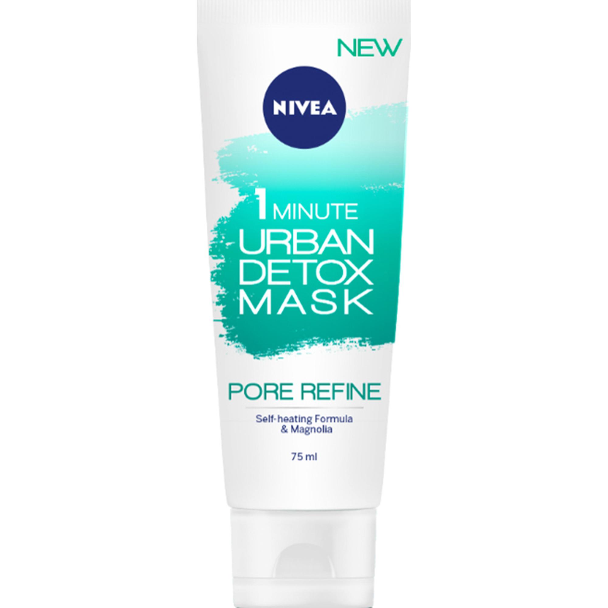 Маска для лица Nivea Urban Skin Detox Сужение пор за 1 мин detox маска