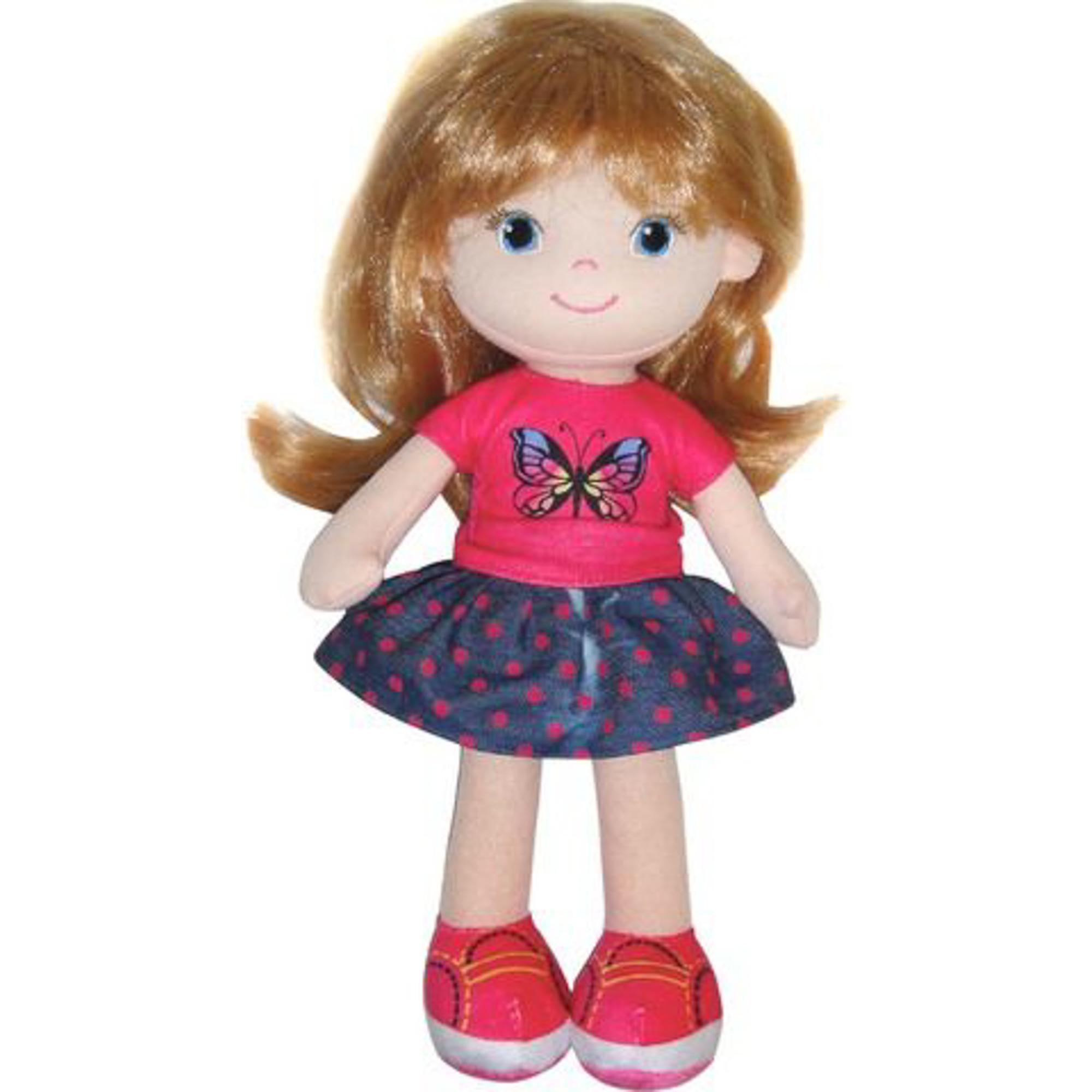 Кукла Abtoys блондинка в синей юбочке 32 см