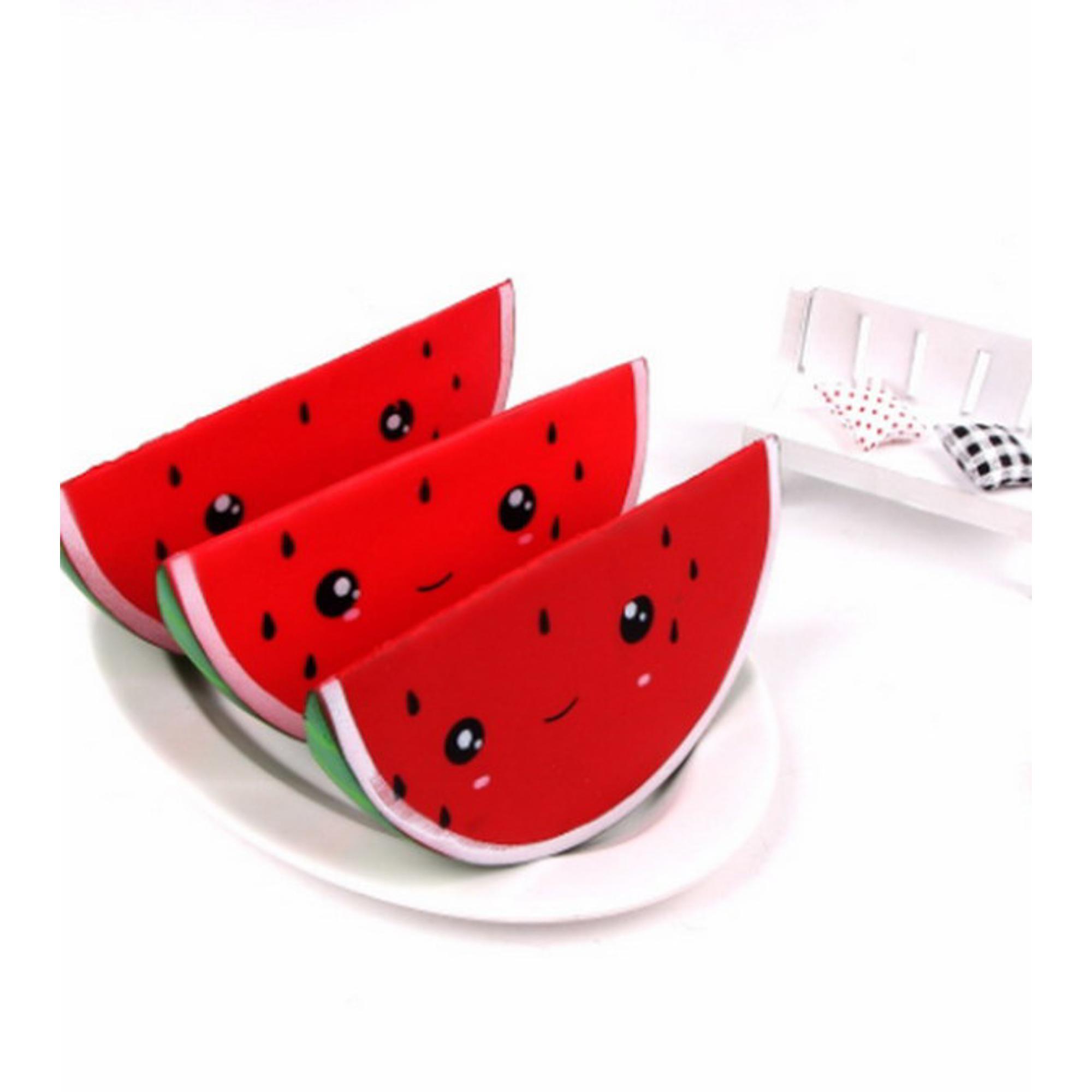 Мягкая игрушка-антистресс JUNFA TOYS Арбуз 5 см фото