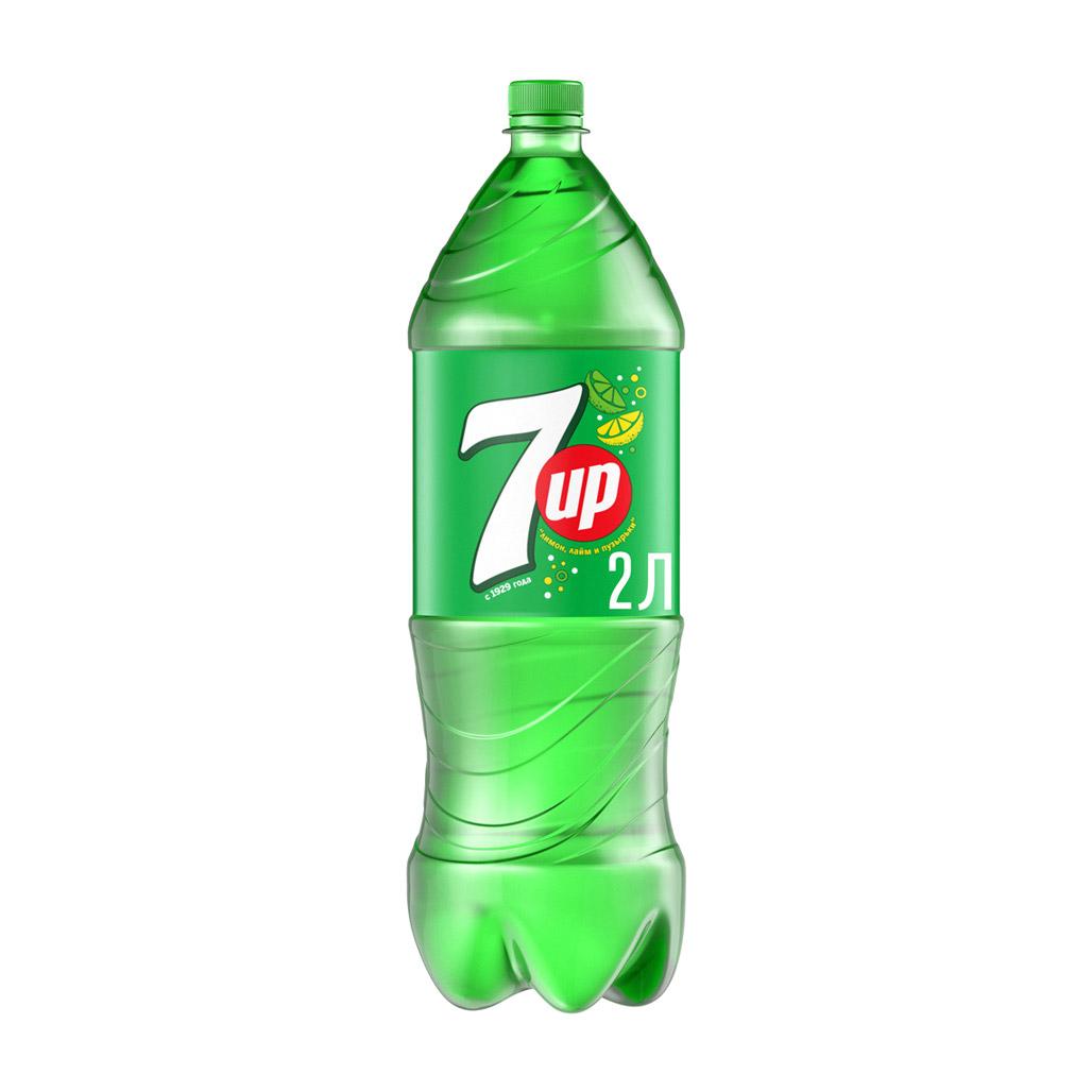 Напиток газированный 7UP 2 л фото