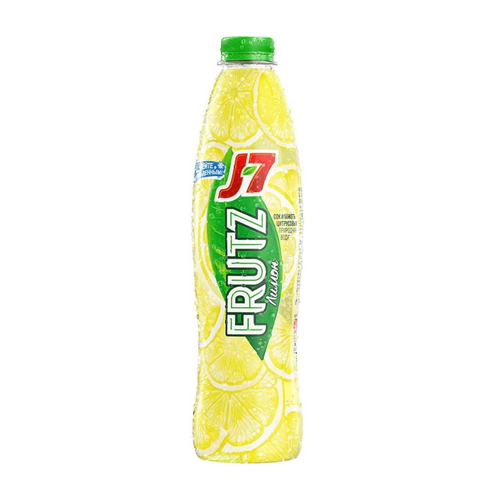 Фото - Напиток сокосодержащий J7 Frutz Лимон 0,75 л j7