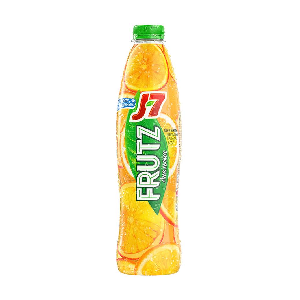 Фото - Напиток сокосодержащий J7 Frutz Апельсин 0,75 л j7