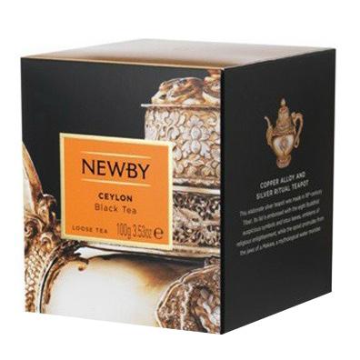Чай черный Newby Ceylon листовой 100 г чай черный newby с чабрецом листовой 100 г