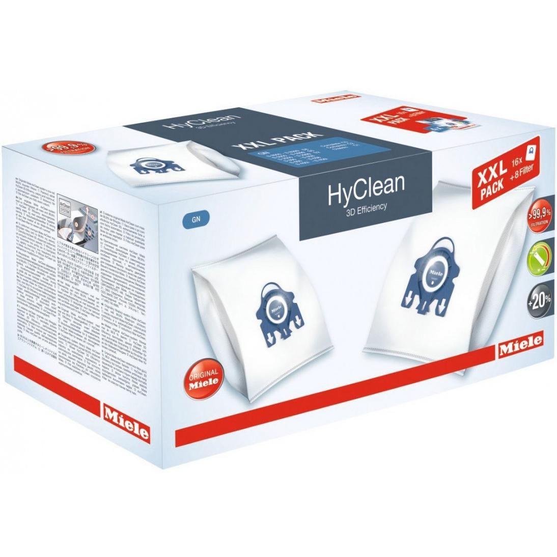 Набор мешков Miele GN XXL HyClean 3D Efficiency фото